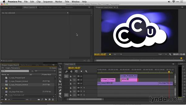Importing an animated logo to an NLE with transparency (straight vs. premultiplied alpha channels): Motion Graphics for Video Editors: Creating Animated Logos