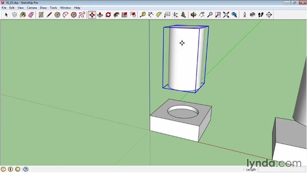 Working with Trim and Split: SketchUp Pro: Tools and Techniques