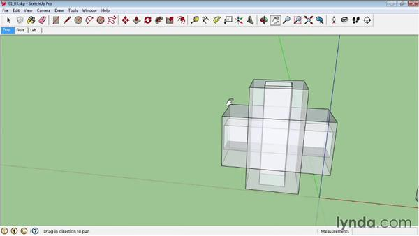 Creating shells: SketchUp Pro: Tools and Techniques