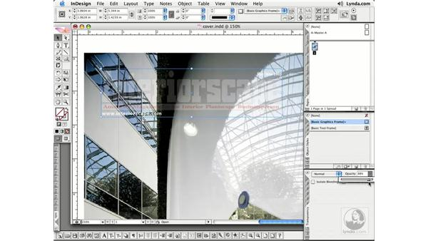 Adjusting Opacity: InDesign CS2 Essential Training