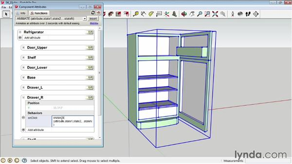 Adding interactivity Motion SketchUp Pro Tools and Techniques  sc 1 st  Lynda.com & Adding interactivity: Motion