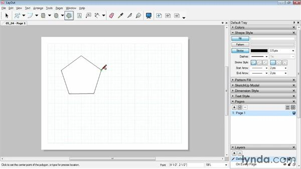 Drawing circles and polygons: SketchUp Pro: Tools and Techniques