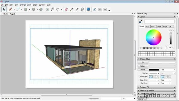 Inserting SketchUp models: SketchUp Pro: Tools and Techniques