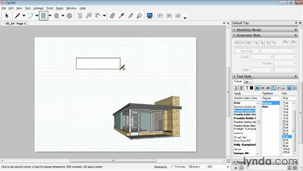 Arranging and grouping objects: SketchUp Pro: Tools and Techniques