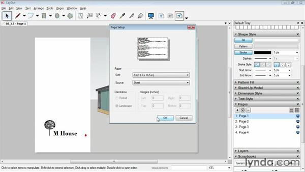 Exporting and printing: SketchUp Pro: Tools and Techniques