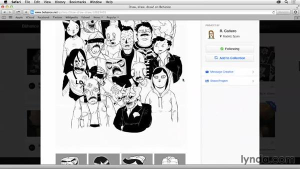 Exploring the Activity Feed: Up and Running with Behance