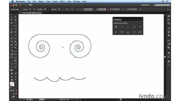 Editing paths with PathScribe: Up and Running with Astute Graphics for Illustrator