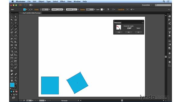 Using the Protractor panel: Up and Running with Astute Graphics for Illustrator