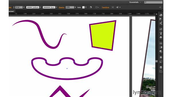 Connecting and straightening objects: Up and Running with Astute Graphics for Illustrator