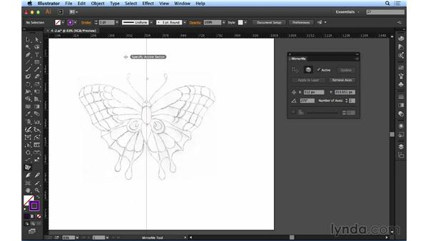 Drawing with symmetry: Up and Running with Astute Graphics for Illustrator