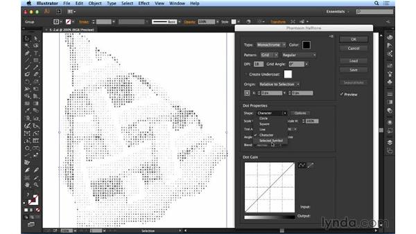 Creating vector halftones: Up and Running with Astute Graphics for Illustrator