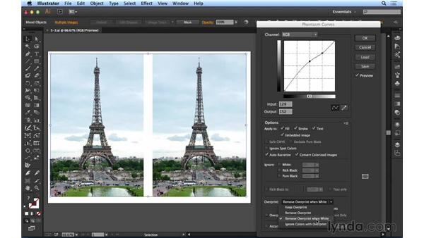 Applying effects to photos: Up and Running with Astute Graphics for Illustrator
