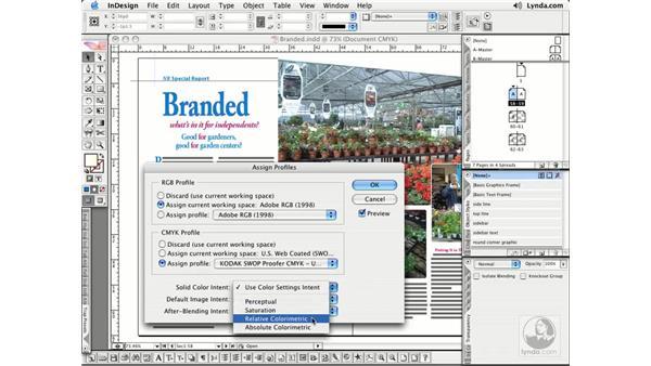 Soft Proofing: InDesign CS2 Essential Training