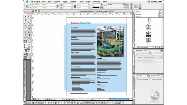 Flattener/Separations Preview: InDesign CS2 Essential Training