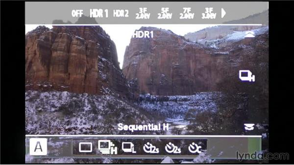 Creating an in-camera HDR: Shooting a High-Dynamic Range (HDR) Time-Lapse Video