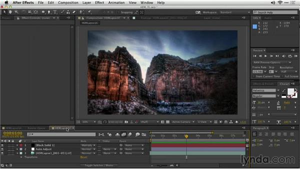 Evaluating the shot: Shooting a High-Dynamic Range (HDR) Time-Lapse Video