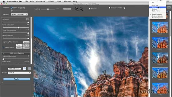 Enhancing an HDR time lapse in Photomatix Pro: Shooting a High-Dynamic Range (HDR) Time-Lapse Video
