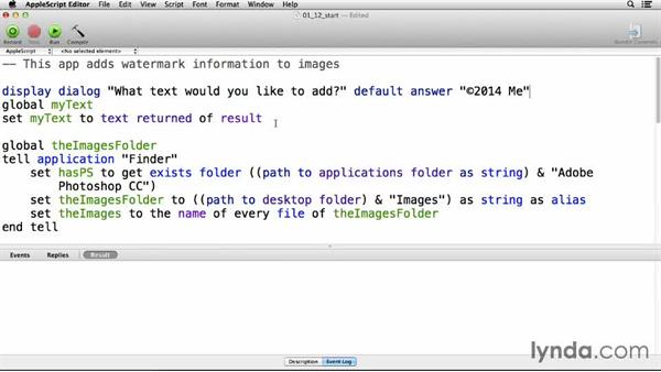 Solution: Set some file metadata: Up and Running with AppleScript