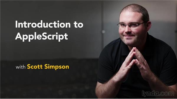 Goodbye: Up and Running with AppleScript