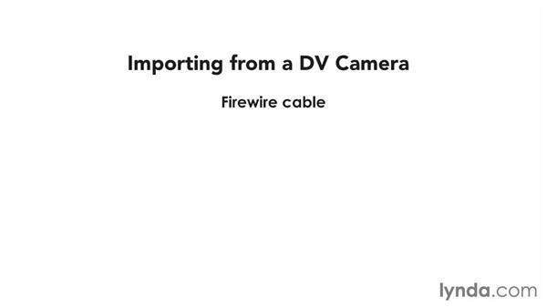 Understanding connector types: iMovie 10.0.2 Essential Training