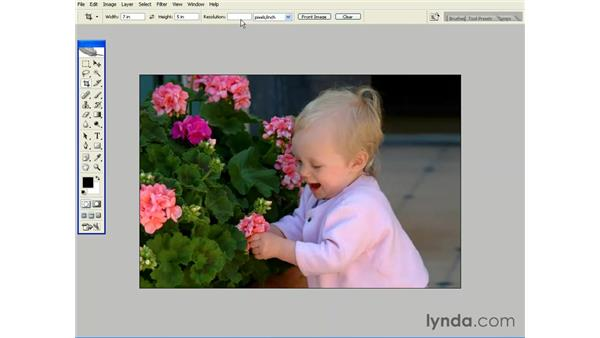 Cropping Images: Photoshop CS2 Essential Training