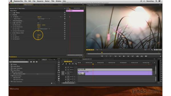 Welcome: Premiere Pro and After Effects: Enhancing Production Value