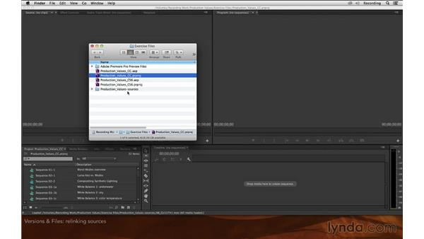 Software versions and exercise files: Premiere Pro and After Effects: Enhancing Production Value