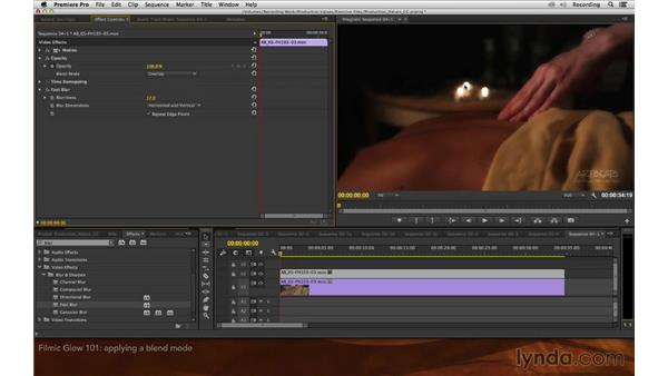 Filmic glow 101: Premiere Pro and After Effects: Enhancing Production Value
