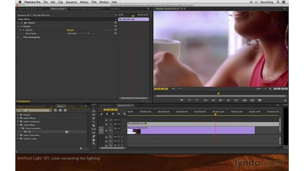Artificial light 101: Premiere Pro and After Effects: Enhancing Production Value