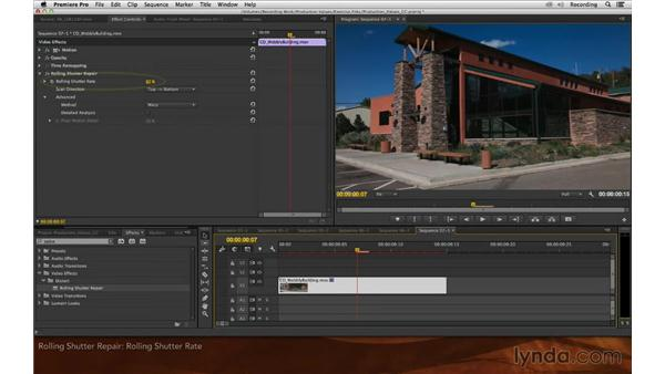 Rolling Shutter Repair: Premiere Pro and After Effects: Enhancing Production Value