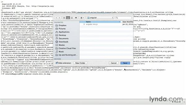Setting up deep linking: Up and Running with AngularJS 1
