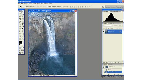 Rotating and Flipping: Photoshop CS2 Essential Training