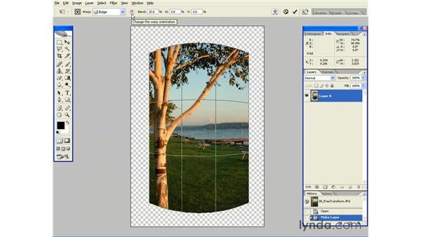 Warping Images: Photoshop CS2 Essential Training