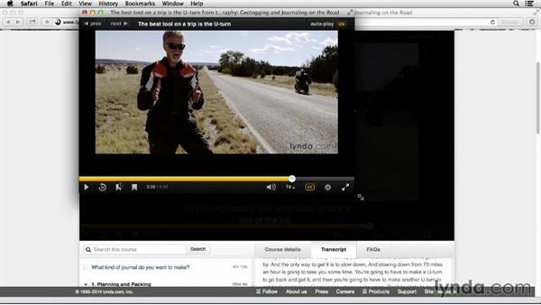 Using basic video player controls: How to use Lynda.com