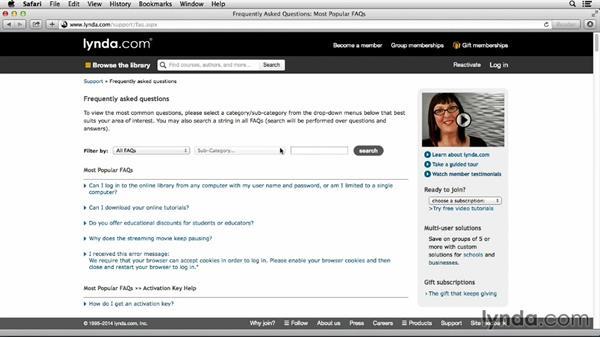 : How to use Lynda.com