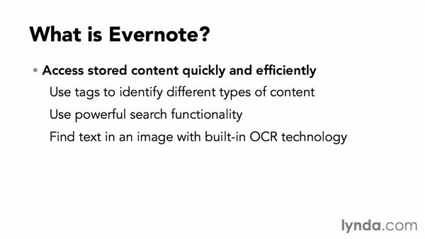 What is Evernote?: Up and Running with Evernote for Windows (2014)