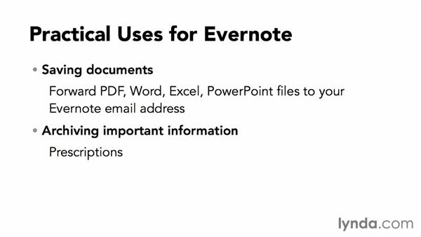 Practical uses for Evernote: Up and Running with Evernote for Windows