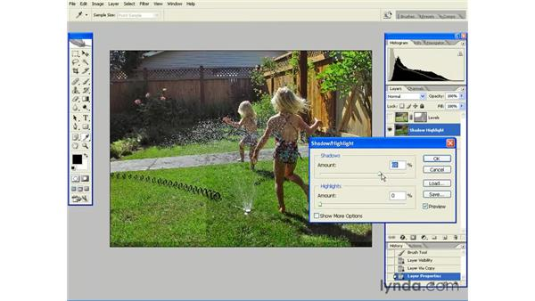 Shadow/Highlight is Your Friend: Photoshop CS2 Essential Training