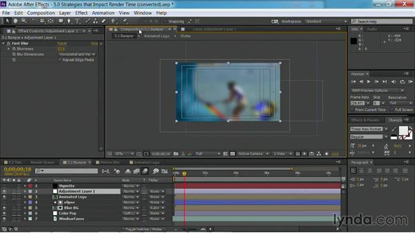 Using adjustment layers: After Effects Guru: Faster Previews and Rendering