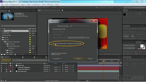 Collecting files: After Effects Guru: Faster Previews and Rendering