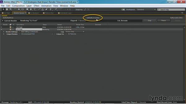 Re-rendering: After Effects Guru: Faster Previews and Rendering