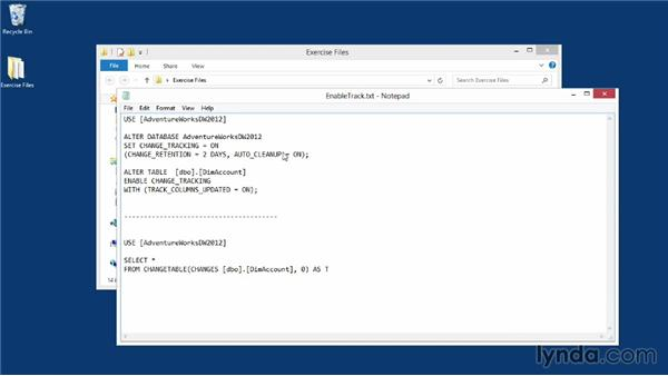 Using the exercise files: Implementing a Data Warehouse with Microsoft SQL Server 2012