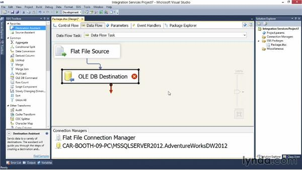 Handling errors in an SSIS package: Implementing a Data Warehouse with Microsoft SQL Server 2012