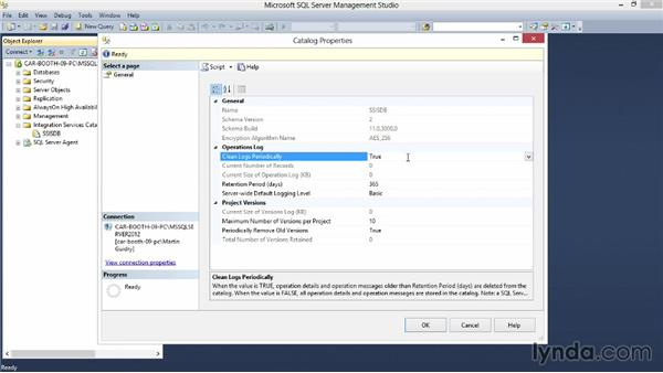 Installing and maintaining SSIS components: Implementing a Data Warehouse with Microsoft SQL Server 2012