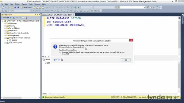 Configuring advanced SSIS settings: Implementing a Data Warehouse with Microsoft SQL Server 2012