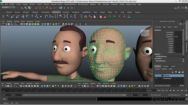 Welcome: Facial Rigging in Maya