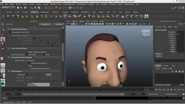 : Facial Rigging in Maya