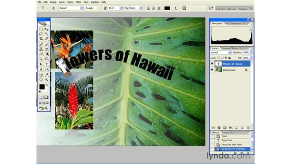 Type on a Path: Photoshop CS2 Essential Training