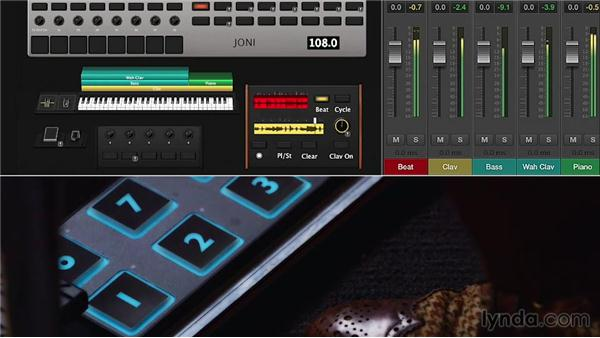 Performing live using the Loopback and Playback plugins simultaneously: Up and Running with MainStage 3