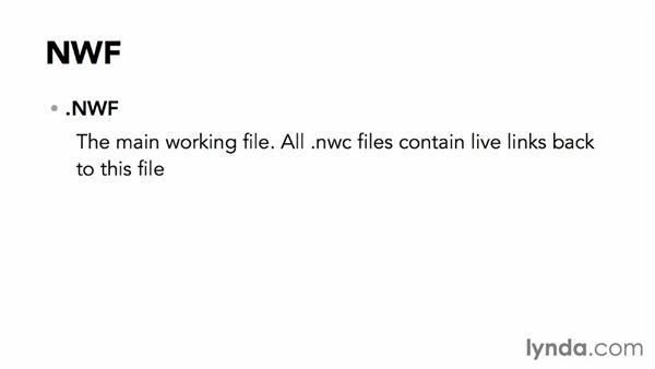 Navisworks file types: Navisworks Essential Training